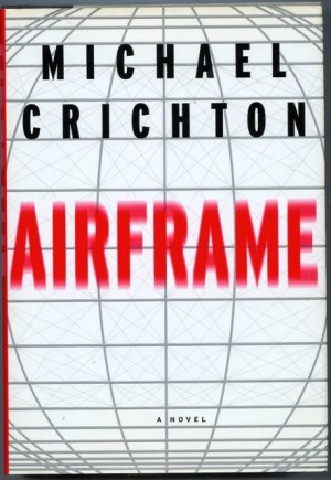 Michael Crichton Airframe HB with DJ NEW