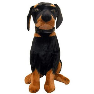 #616  Giant Brown Rottweiler Plsuh