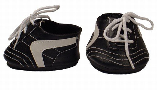 Black Cleated Tennis Shoes