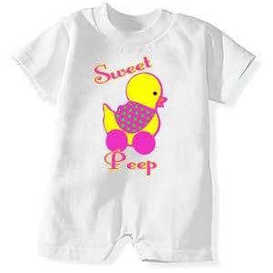 """""""Sweet Peep"""" Romper"""