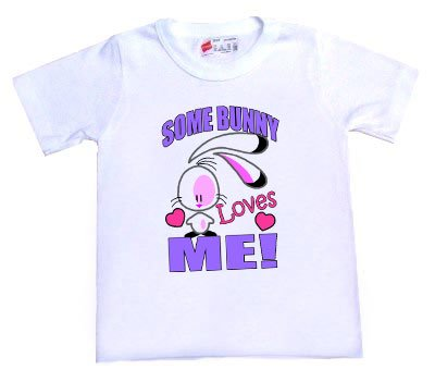 """Some Bunny"" Loves ME Easter Tee"