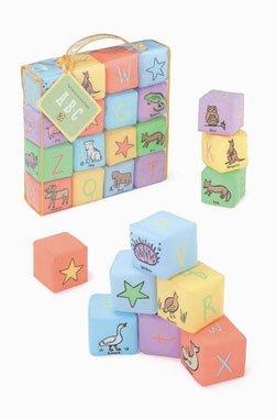 ABC Soft Blocks by Jack Rabbit Creations