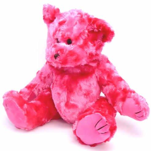 """15"""" Hot Pink Bear Kit"""