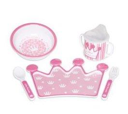 PRINCESS Melamine Feeding Set
