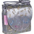 IFD04 - Silver Dragonfly - 'I Frogee' Boxy Diaper Bags