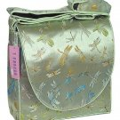 IFD05 - Bean Green Dragonfly - 'I Frogee' Boxy Diaper Bags