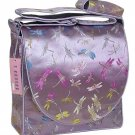 IFD10 - Light Purple Dragonfly - 'I Frogee' Boxy Diaper Bags