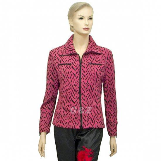 GW01 - Lady's Fashion Jackets (Medium Violet Red)