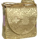 IFD26 - Gold Fortune Flower - I Frogee Diaper Bags