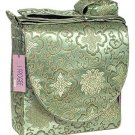 IFD27 - Bean Green Fortune Flower - I Frogee Diaper Bags