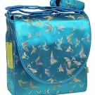 IFD29 - Skyblue Butterfly - I Frogee Diaper Bags