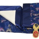 Dark Blue Butterfly - I Frogee Brocade Baby Blankets