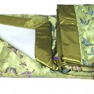 Olive Green Butterfly- I Frogee Brocade Baby Blankets
