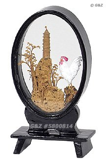 5800814 - Mini White Rooster