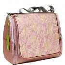 MDB - Light Pink Dragon Brocade - I Frogee Mom's Diaper Bags