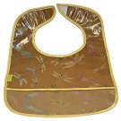 Antique Gold Dragonfly-'I Frogee' Baby Bibs