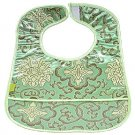 Bean Green Fortune Flower-'I Frogee' Baby Bibs