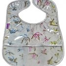 Silver Butterfly-'I Frogee' Baby Bibs