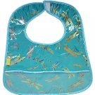 Sky Blue Dragonfly-'I Frogee' Baby Bibs