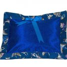 Dark Blue Butterfly Brocade - I Frogee Baby Pillow
