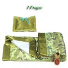 Olive Green Butterfly Brocade - I Frogee Baby Gift Set
