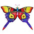 TCHD001-3  Rain Forest Butterfly Kite-1 (Red/Purple) (Chinese Silk Kite)