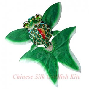 3D Chinese Gold Fish Kite - Green