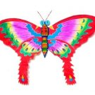 Mini Silk Butterfly Kite - Red - Chinese Kites