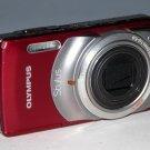 Olympus Stylus 7010 12.0MP Digital Camera - Red #8789