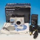 Panasonic LUMIX DMC-LX2 10.2MP Digital Camera - Silver #1427
