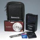 Panasonic LUMIX DMC-FX33 8.1 MP Digital Camera - Brown