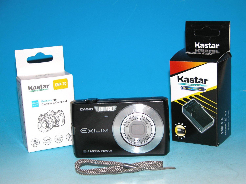 Casio Exilim Zoom EX-Z150 Digital Camera 8.1 MP - Black #9787
