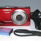 Kodak EasyShare M380 10.2MP Digital Camera - Red #9908