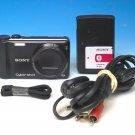Sony Cyber-shot DSC-H55 14.1MP Digital Camera - Black #6402