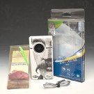 Flip Video S1240 Camcorder - New Battery Installed (Mustache) #0458