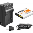 Replacement NP-BG1 Battery + Charger For Sony Cyber-shot Digital Cameras