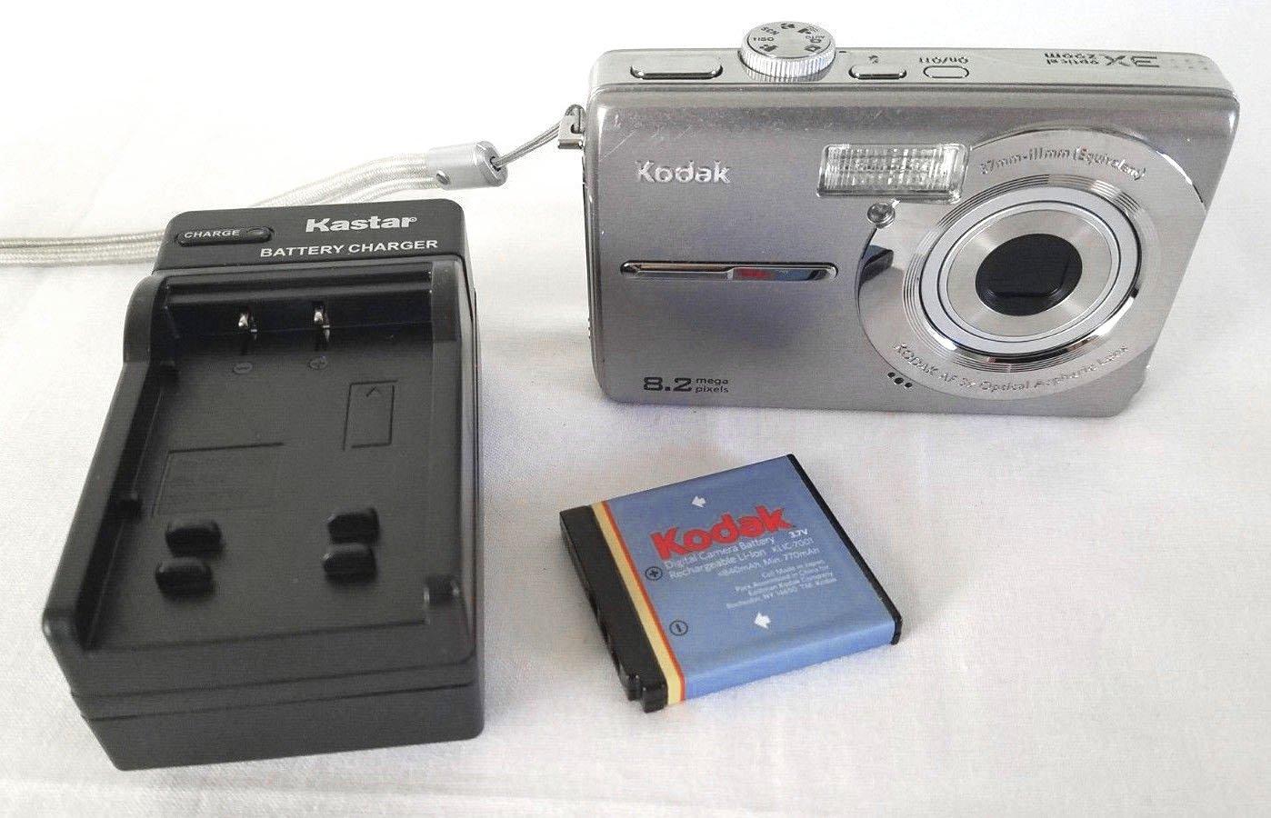 Kodak EasyShare M853 8.2MP Digital Camera - Silver #6288