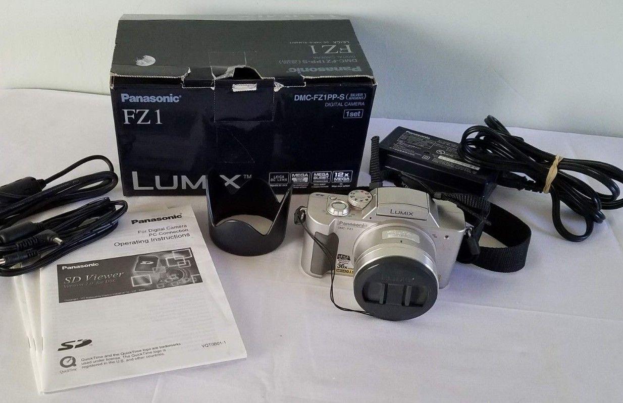 Panasonic LUMIX DMC-FZ1 2.0MP Digital Camera - Silver #0587