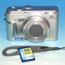 Panasonic LUMIX DMC-LZ2 5.0MP Digital Camera - Silver #7009