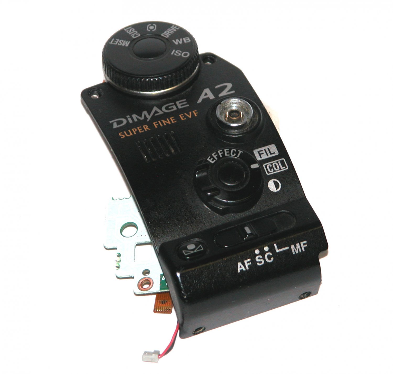 Konica Minolta DiMAGE A2 Side Function Control Panel - Repair Parts