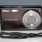 Nikon COOLPIX S550 10.0MP Digital Camera - Graphite Black #4348