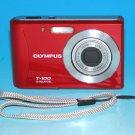 Olympus Tough T-100 12.0MP Digital Camera - Red #9950