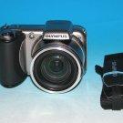Olympus SP-600UZ 12.0MP Digital Camera - Silver #7347