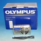 Olympus Stylus 600 Digital 6.0MP Digital Camera - Silver #6623 (In Box)