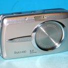 Olympus Stylus 600 Digital 6.0MP Digital Camera - Silver #6756