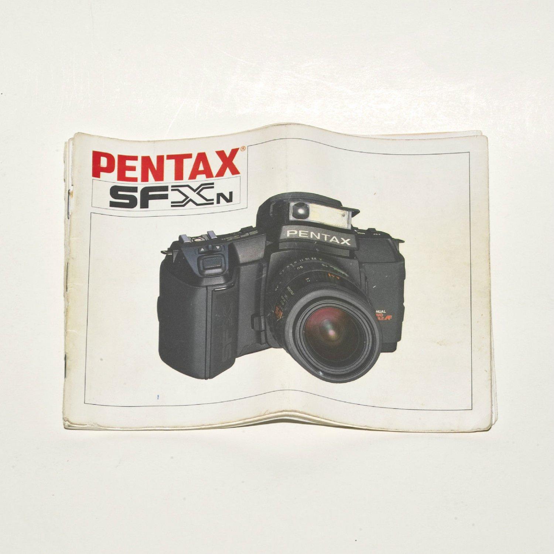 Pentax SFXn 35mm Film Camera Operation Manual