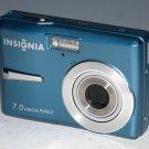Insignia NS-DSC7B09 7.0MP Digital Camera - Blue #5024