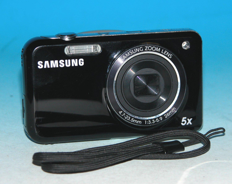 Samsung PL120 14.2MP Digital Camera - Black