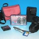 Casio EXILIM ZOOM EX-Z1080 10.1MP Digital Camera - Pink #6851