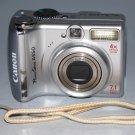 Canon PowerShot A550 7.1MP Digital Camera - Silver #6715